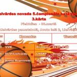 novada basketbola 5.čempionāts, 3.kārta